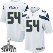 NFL Bobby Wagner Seattle Seahawks Youth Elite Road Super Bowl XLVIII Nike Jersey - White