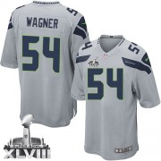 NFL Bobby Wagner Seattle Seahawks Youth Limited Alternate Super Bowl XLVIII Nike Jersey - Grey