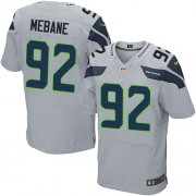 NFL Brandon Mebane Seattle Seahawks Elite Alternate Nike Jersey - Grey
