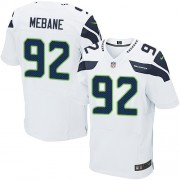 NFL Brandon Mebane Seattle Seahawks Elite Road Nike Jersey - White