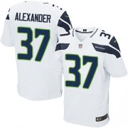 NFL Shaun Alexander Seattle Seahawks Elite Road Nike Jersey - White