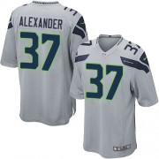 NFL Shaun Alexander Seattle Seahawks Game Alternate Nike Jersey - Grey