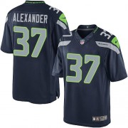 NFL Shaun Alexander Seattle Seahawks Limited Team Color Home Nike Jersey - Navy Blue