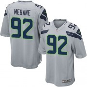 NFL Brandon Mebane Seattle Seahawks Game Alternate Nike Jersey - Grey