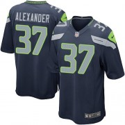 NFL Shaun Alexander Seattle Seahawks Youth Elite Team Color Home Nike Jersey - Navy Blue