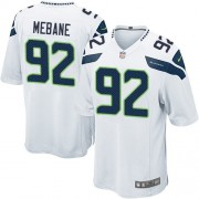 NFL Brandon Mebane Seattle Seahawks Game Road Nike Jersey - White