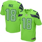 NFL Sidney Rice Seattle Seahawks Elite Alternate Nike Jersey - Green