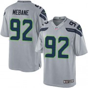 NFL Brandon Mebane Seattle Seahawks Limited Alternate Nike Jersey - Grey