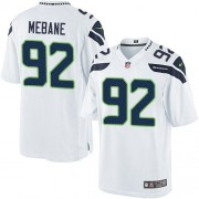 NFL Brandon Mebane Seattle Seahawks Limited Road Nike Jersey - White