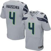 NFL Steven Hauschka Seattle Seahawks Elite Alternate Nike Jersey - Grey