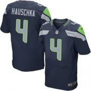 NFL Steven Hauschka Seattle Seahawks Elite Team Color Home Nike Jersey - Navy Blue