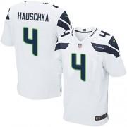 NFL Steven Hauschka Seattle Seahawks Elite Road Nike Jersey - White