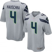 NFL Steven Hauschka Seattle Seahawks Game Alternate Nike Jersey - Grey