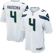 NFL Steven Hauschka Seattle Seahawks Game Road Nike Jersey - White