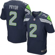 NFL Terrelle Pryor Seattle Seahawks Elite Team Color Home Nike Jersey - Navy Blue