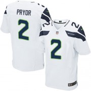NFL Terrelle Pryor Seattle Seahawks Elite Road Nike Jersey - White