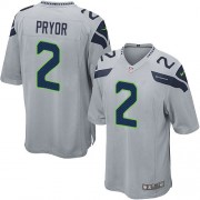 NFL Terrelle Pryor Seattle Seahawks Game Alternate Nike Jersey - Grey