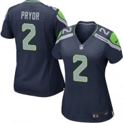 NFL Terrelle Pryor Seattle Seahawks Women's Game Team Color Home Nike Jersey - Navy Blue
