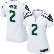 NFL Terrelle Pryor Seattle Seahawks Women's Game Road Nike Jersey - White