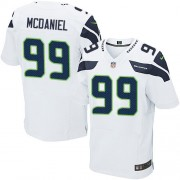 NFL Tony McDaniel Seattle Seahawks Elite Road Nike Jersey - White