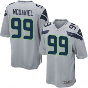 NFL Tony McDaniel Seattle Seahawks Game Alternate Nike Jersey - Grey