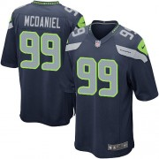 NFL Tony McDaniel Seattle Seahawks Game Team Color Home Nike Jersey - Navy Blue