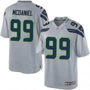 NFL Tony McDaniel Seattle Seahawks Limited Alternate Nike Jersey - Grey