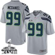 NFL Tony McDaniel Seattle Seahawks Limited Alternate Super Bowl XLVIII Nike Jersey - Grey