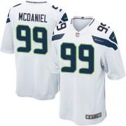 NFL Tony McDaniel Seattle Seahawks Youth Elite Road Nike Jersey - White