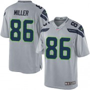 NFL Zach Miller Seattle Seahawks Limited Alternate Nike Jersey - Grey