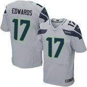 NFL Braylon Edwards Seattle Seahawks Elite Alternate Nike Jersey - Grey