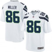 NFL Zach Miller Seattle Seahawks Limited Road Nike Jersey - White