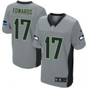 NFL Braylon Edwards Seattle Seahawks Elite Nike Jersey - Grey Shadow