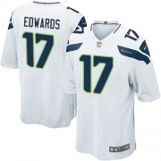 NFL Braylon Edwards Seattle Seahawks Game Road Nike Jersey - White