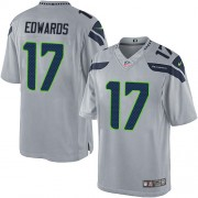 NFL Braylon Edwards Seattle Seahawks Limited Alternate Nike Jersey - Grey