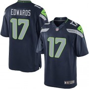 NFL Braylon Edwards Seattle Seahawks Limited Team Color Home Nike Jersey - Navy Blue
