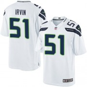 NFL Bruce Irvin Seattle Seahawks Limited Road Nike Jersey - White