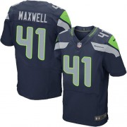 NFL Byron Maxwell Seattle Seahawks Elite Team Color Home Nike Jersey - Navy Blue