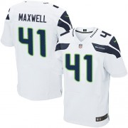 NFL Byron Maxwell Seattle Seahawks Elite Road Nike Jersey - White