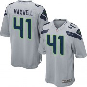 NFL Byron Maxwell Seattle Seahawks Game Alternate Nike Jersey - Grey