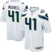 NFL Byron Maxwell Seattle Seahawks Game Road Nike Jersey - White