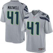 NFL Byron Maxwell Seattle Seahawks Limited Alternate Nike Jersey - Grey