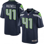 NFL Byron Maxwell Seattle Seahawks Limited Team Color Home Nike Jersey - Navy Blue