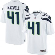 NFL Byron Maxwell Seattle Seahawks Limited Road Nike Jersey - White