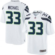 NFL Christine Michael Seattle Seahawks Limited Road Nike Jersey - White