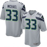 NFL Christine Michael Seattle Seahawks Youth Elite Alternate Nike Jersey - Grey