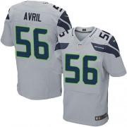 NFL Cliff Avril Seattle Seahawks Elite Alternate Nike Jersey - Grey
