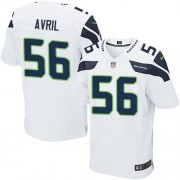 NFL Cliff Avril Seattle Seahawks Elite Road Nike Jersey - White