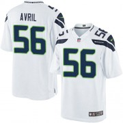 NFL Cliff Avril Seattle Seahawks Limited Road Nike Jersey - White