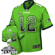 NFL 12th Fan Seattle Seahawks Limited Drift Fashion Super Bowl XLVIII Nike Jersey - Green